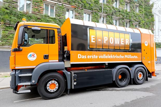 Ve Vídni vám odpadky vyvezou tak, že to ani neuslyšíte, tedy elektricky
