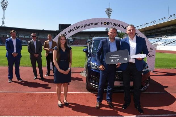 SEAT se stal novým partnerem druhé nejvyšší fotbalové ligy v Česku