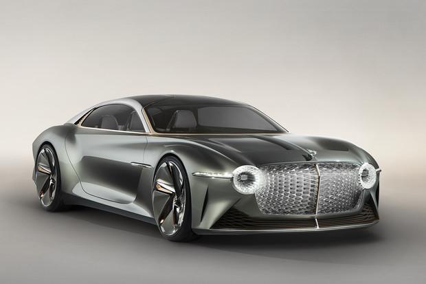 Bentley slaví své 100. narozeniny stylovým elektrickým konceptem EXP 100 GT