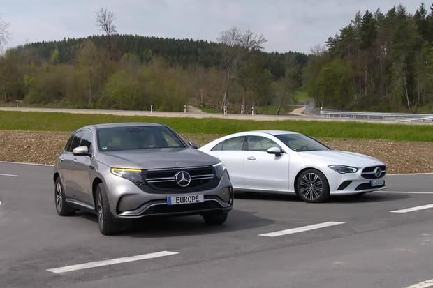 Poslechněte si, jaký varovný zvuk bude vydávat elektrické SUV Mercedes-Benz EQC