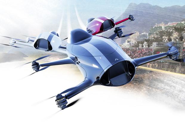 Airspeeder se chce stát Formulí 1 budoucnosti