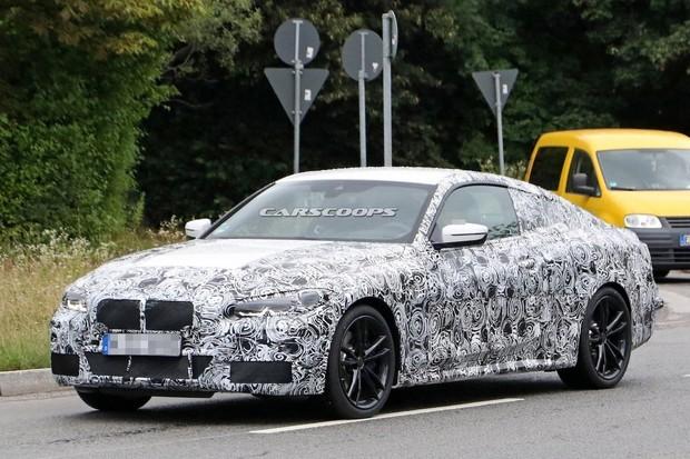 Nové BMW řady 4 už se pilně testuje. Jde o menšího brášku luxusní řady 8