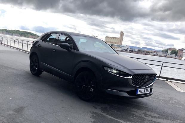 První elektrická Mazda vyfocena při testování v Norsku