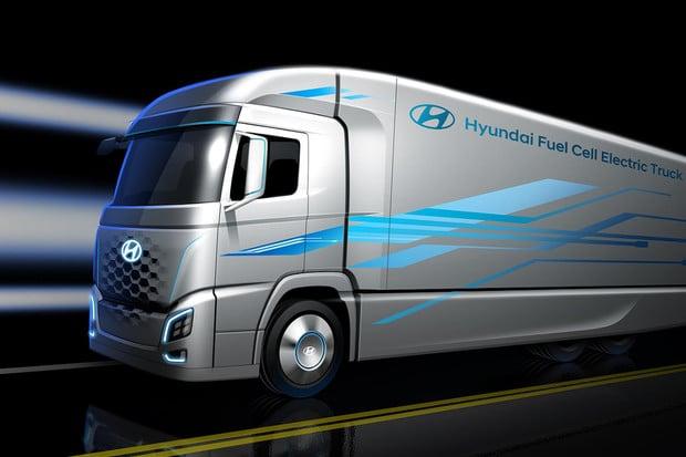 Švýcarsko nakoupí vodíkové nákladní automobily od Hyundai