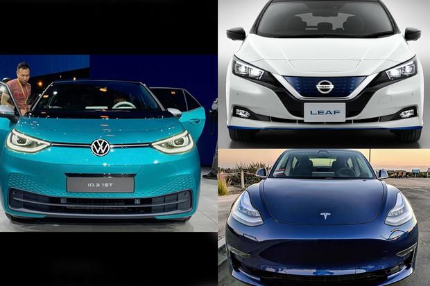 ID.3, Leaf e+, nebo Model 3? Kdo si odnese titul nejlepšího dostupného elektromobilu?