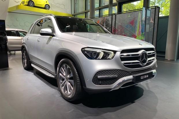 Mercedes představil nové plug-in hybridní varianty modelů GLC a GLE