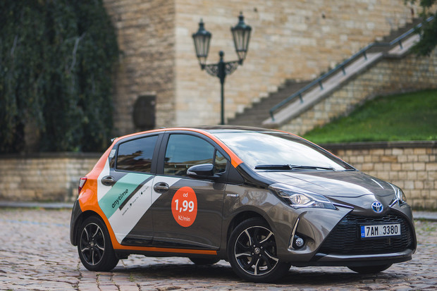 Carsharing AnyTime mění barvy a do Prahy přidá dalších 200 automobilů