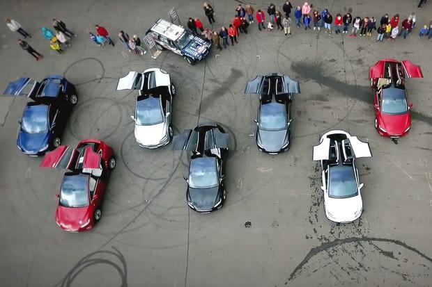 Na veletrhu e-salon se bude konat sraz vozů Tesla. Registrovat se můžete i vy
