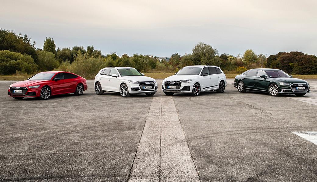 Audi Q7 a A7