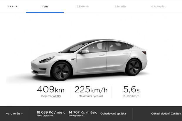 Tesla spouští konfigurátor pro Česko aprvní oficiální prodejnu otevře již dnes