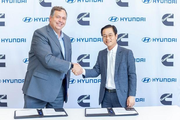 Hyundai a Cummins spolupracují na technologii vodíkových palivových článků