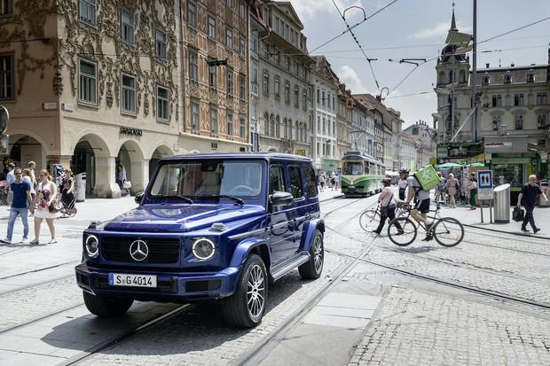 Mercedes opravdu pracuje na elektrické třídě G, informaci potvrdil CEO Daimleru