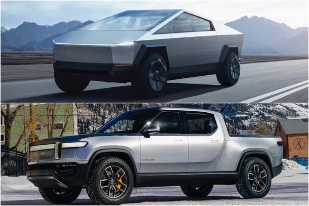 Tesla Cybertruck vs. Rivian R1T: upřednostníte peníze, nebo designovou klasiku?