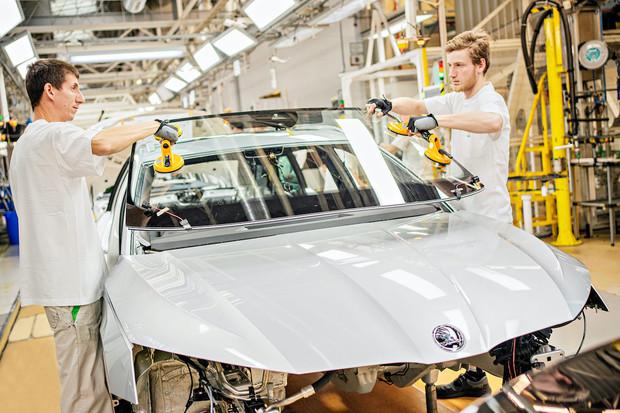 Škoda Auto zahájila v Mladé Boleslavi výrobu nové Octavie