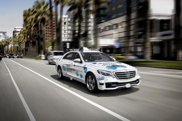 Daimler v Kalifornii bude testovat hned několik kusů autonomní třídy S
