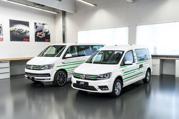 Je libo elektrický Volkswagen Caddy či Transporter? Společnost ABT je nabízí