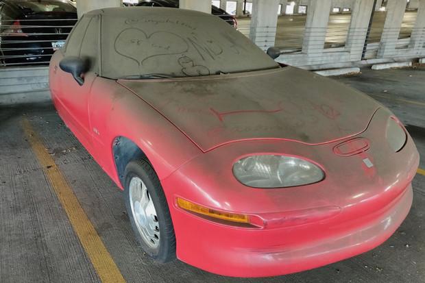GM EV1 bylo nalezeno v parkovacích garážích v Alabamě