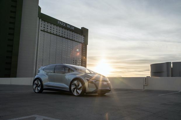 Na CESu nechybělo ani Audi. Svůj stánek zaměřilo na budoucnost