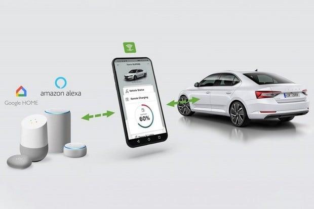Škoda Auto rozšiřuje služby Škoda Connect, nejen pro elektrifikované vozy