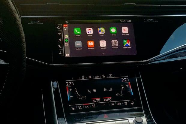 Audi Q7 má bezdrátové CarPlay. Konečně jde o spolehlivý a použitelný systém
