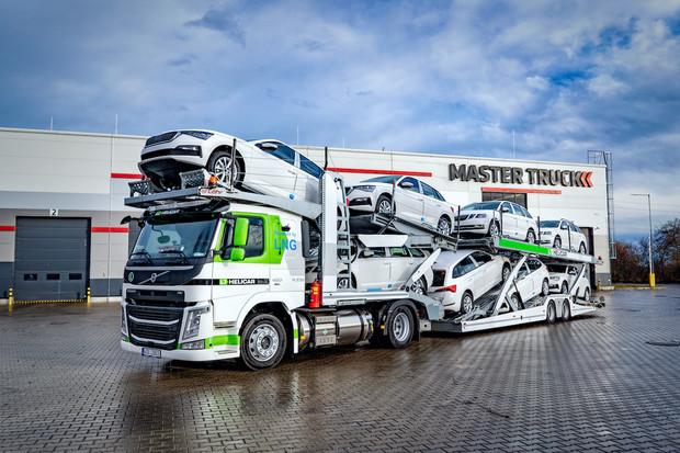 V České republice jezdí první kamion na LNG