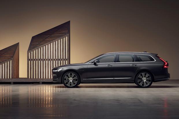 Volvo implementuje mild-hybridní pohony a nový kabát pro S90 a V90
