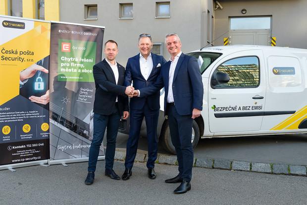 Dceřiná společnost České pošty bude využívat Renault Kangoo Z.E.