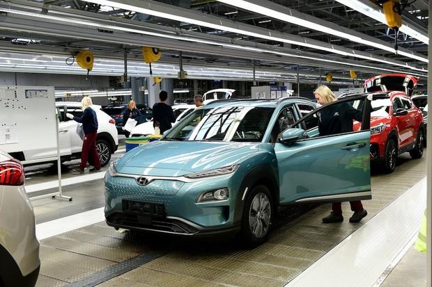 Prvním elektromobilem z Česka je Hyundai Kona Electric
