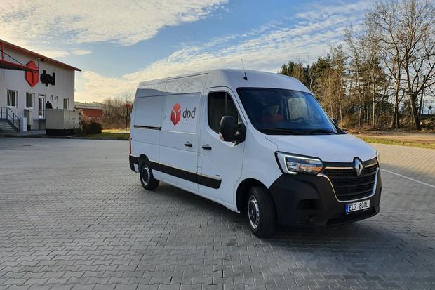 DPD testuje další elektrickou dodávku od Renaultu