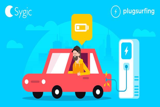 Sygic uzavřel partnerství s Plugsurfingem. Co to znamená pro elektromobilitu?