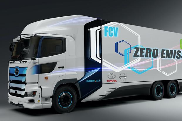 Toyota pracuje na vodíkovém nákladním autě s dojezdem až 600 kilometrů
