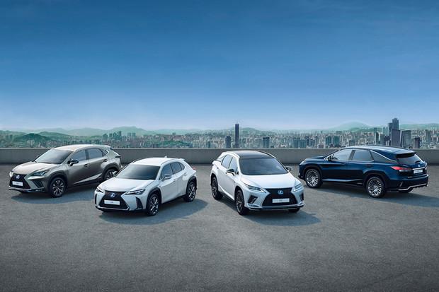 Lexus slaví! V Evropě prodal čtvrt milionu hybridních SUV