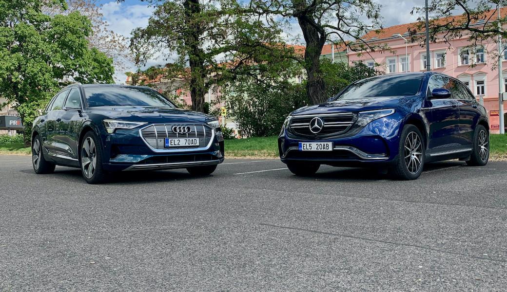 Souboj rychlosti nabíjení: Audi e-tron 2020 vs. Mercedes-Benz EQC