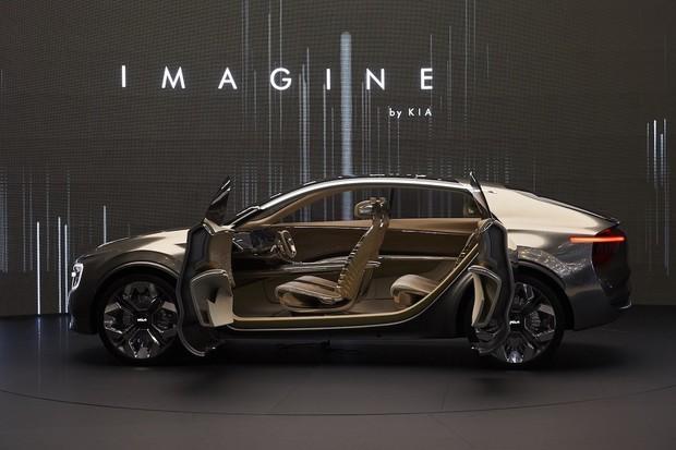 Kia připravuje sedan s 800V systémem, na 300 km se nabije za 20 minut