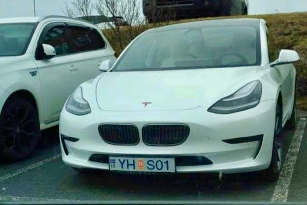 Fantazii se meze nekladou aneb i Tesla Model 3 může mít ledvinky od BMW