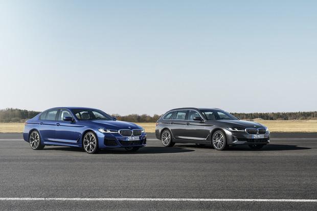 BMW představilo modernizované  530e kombi i rychlý sedan 545e