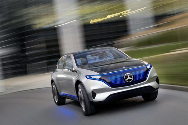 Mercedes ve Frankfurtu ukáže nový elektromobil řady EQ. Nahradí elektrické Béčko