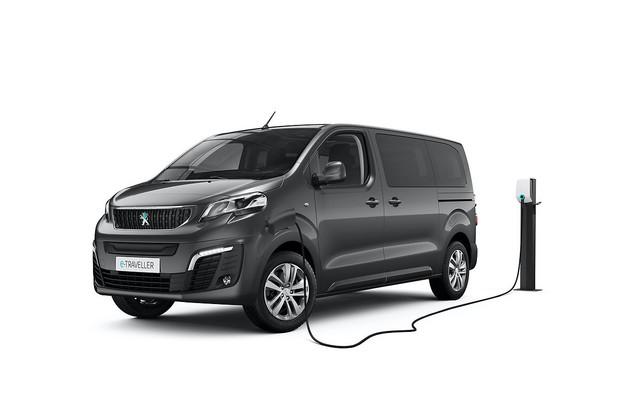 Peugeot představil elektrickou dodávku e-Traveller pro přepravu osob