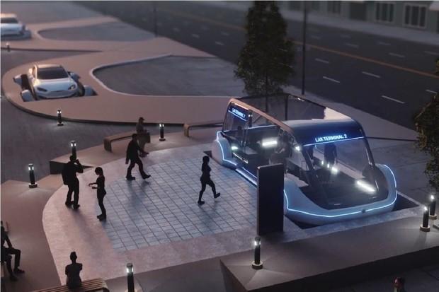 Tesla plánuje vyvíjet dvanáctimístné dodávky pro The Boring Company