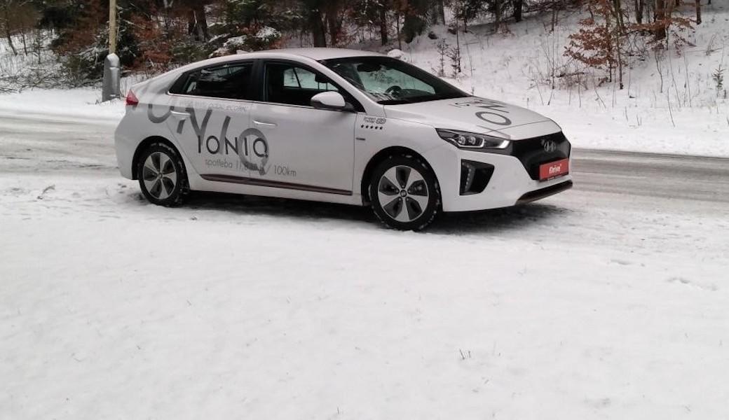 Jak si vede Hyundai Ioniq Electric vzimním provozu