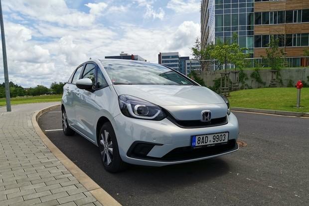 Honda Jazz e:HEV získala pětihvězdičkové hodnocení Euro NCAP