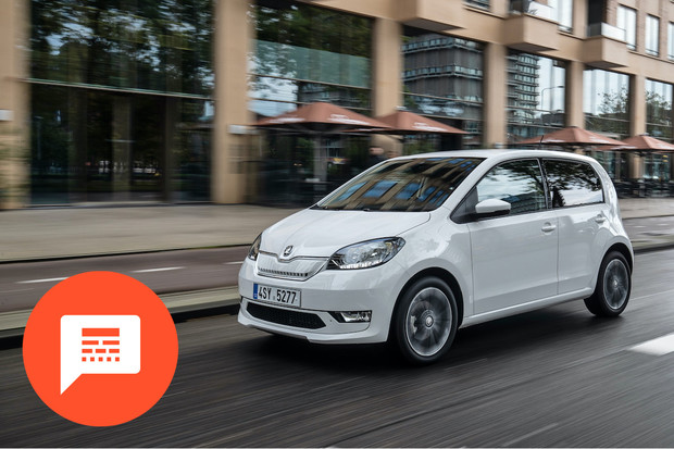 Vyprodané Citigo-e iV, policejní elektromobily, uniklé fotky a další novinky