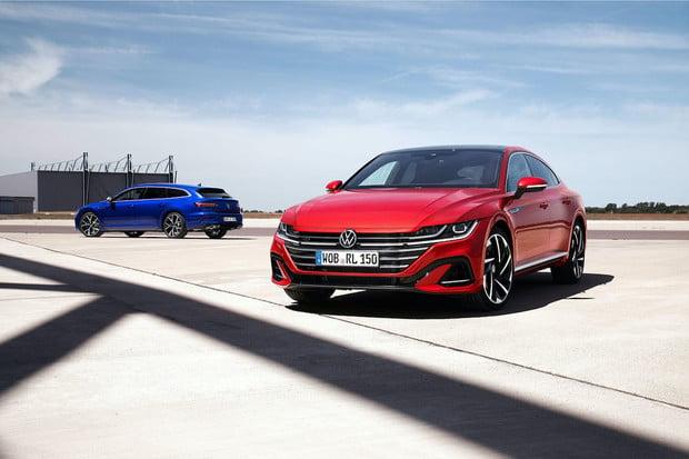 Nový VW Arteon dostane hybridní pohon, k dostání bude i ve verzi kombi