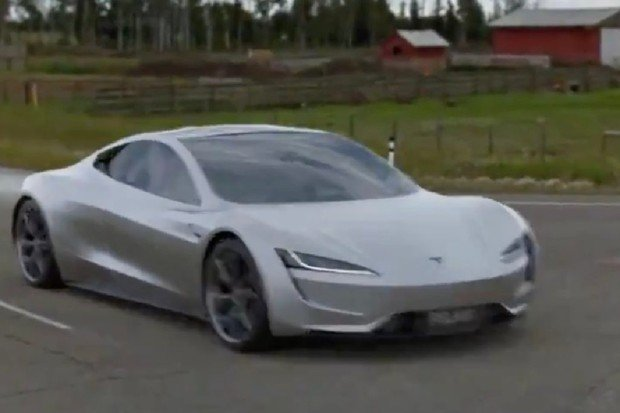 Koncept Tesly Roadster s balíčkem Space X může svými dovednostmi přepsat dějiny