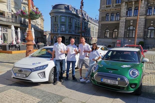 Průběh 3. etapy ECO energy Rally Bohemia