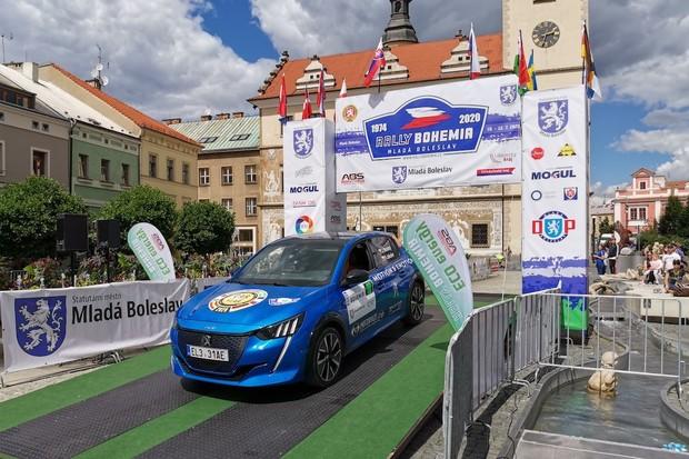ECO energy Rally Bohemia vyhrál Peugeot e-208, za ním dojelo Citigo iV a e-Niro