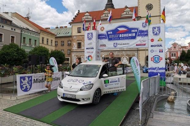 Nejnižší spotřebu měla Škoda Citigo-e iV, ale Eco Energy Rally Bohemia vyhrála Kia