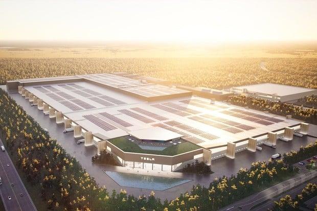 Podívejte se, jak bude vypadat Tesla Gigafactory v Berlíně