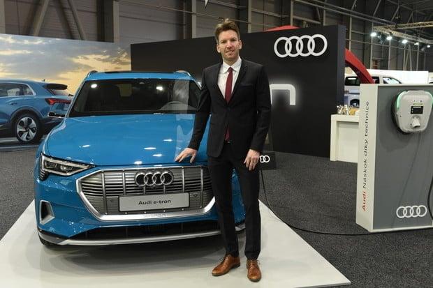 Do pěti let budeme mít 20 elektromobilů, říká Marcel Archleb, šéf českého Audi