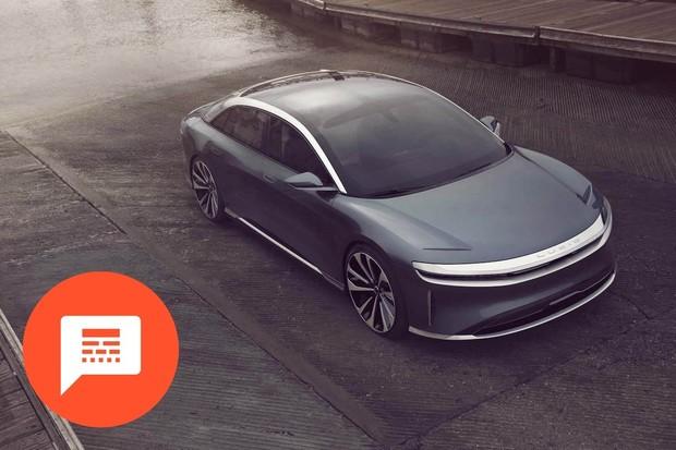 Lucid Air má dojezd 827 km, menší kufr u Tesly Model 3, dojezd VW ID.3 a další